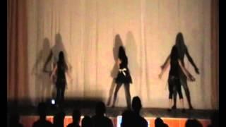 Лагерь Орбита 2 смена 2012 Вечер знакомств Дикие танцы 1