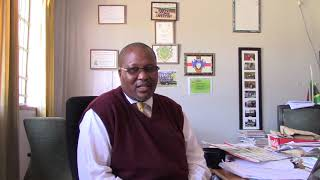 Mr Thambo - AV BuKani School explains why his school welcomes volunteersA V Bukani