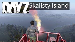 DayZ Xbox One Gameplay Skalisty Island & Castle