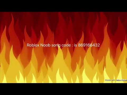 Roblox Noob Song Code Youtube