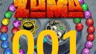 Mini-Let`s play Zuma Deluxe Folge 001  (German)