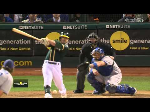 Oakland Athletics   Los Angeles Dodgers August 18 2015