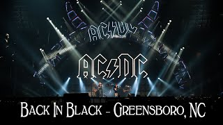 AC/DC - Back In Black - Greensboro NC