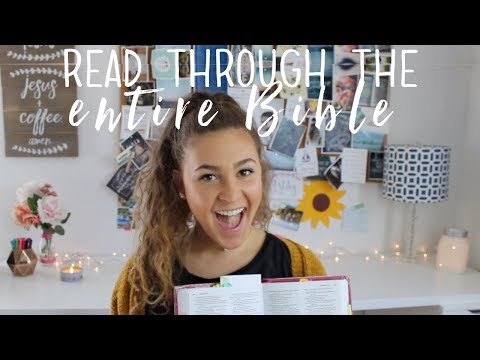 How to Read Through the ENTIRE Bible | My Top 10 Tips
