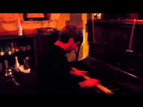 Matt Richard playing piano