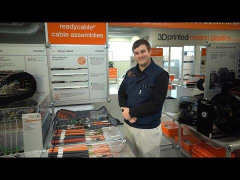 igus® Booth Tours - chainflex® Cables - Power Cables