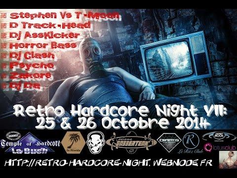 Dj Da - Retro Hardcore Night VII - RHN07 - Hard Force United - Paul Ternison BDay - Gabber