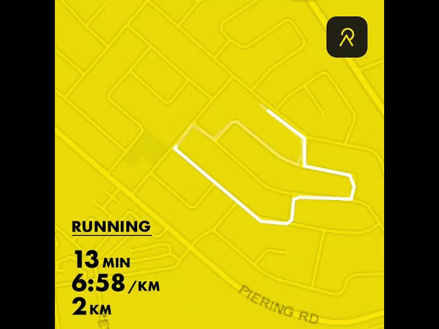FitGen Virtual Run Week2