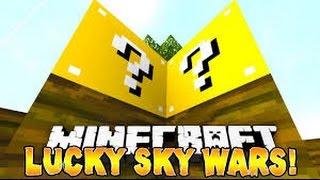 Lucky Block Sky Wars