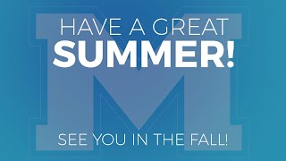 Have a great summer Celts!