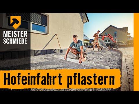 Hofeinfahrt Pflastern Hornbach Meisterschmiede Youtube