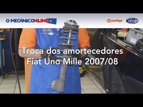Troca dos Amortecedores no Fiat Mille 07/08