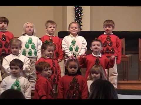 Away in a Manger - 2009 Trinity Christian Academy (Lexington) Christmas Program