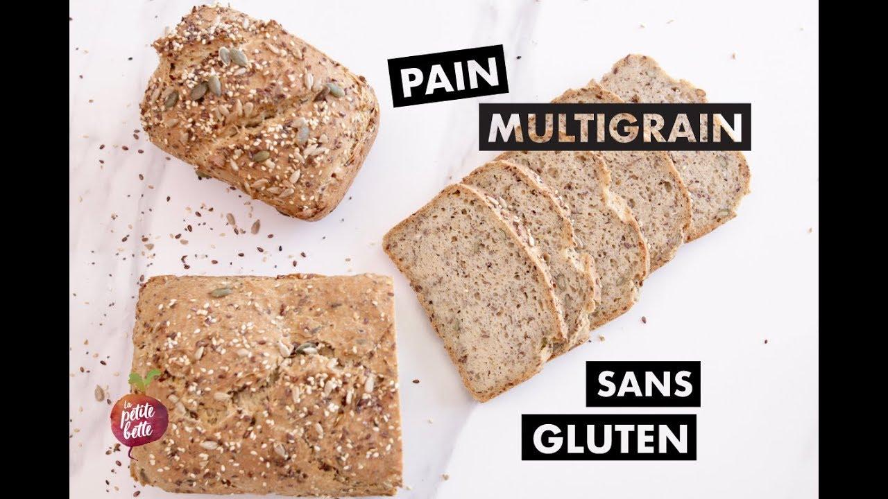pain multigrain maison sans gluten enfin un vrai bon pain sans gluten youtube. Black Bedroom Furniture Sets. Home Design Ideas