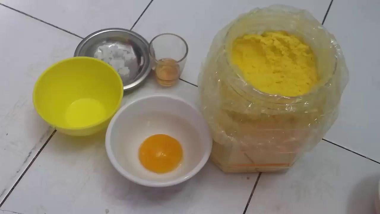 Tinh bột nghệ -Trắng da bằng tinh bột nghệ và trứng gà part 1