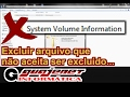 System Volume Information - Como excluir