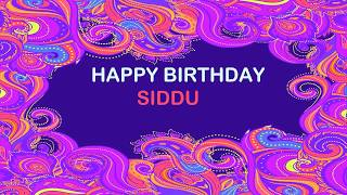 Siddu   Birthday Postcards & Postales