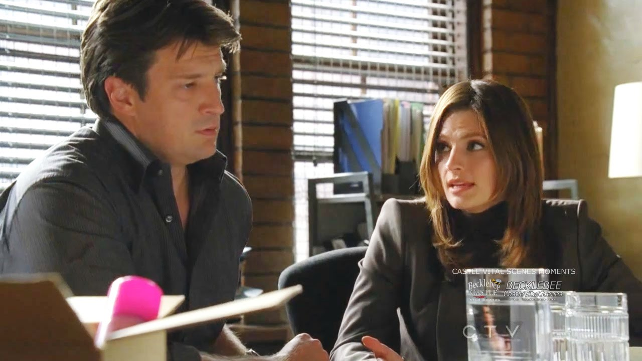 Castle 3x05 Moment: Two lovers reunite  after 3 yrs where would you go? - Motel - Really??!