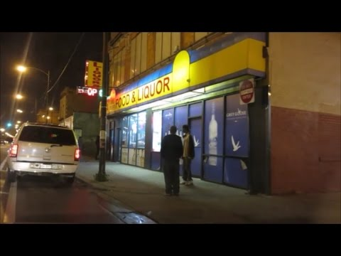 CHICAGO'S SOUTH SIDE STREETS AT NIGHT