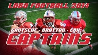 2014 Lobo Football | Team Captain Announcement Video