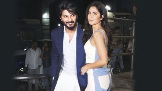 Katrina Kaif And Dulquer Salmaan At The Zoya Factor Screening