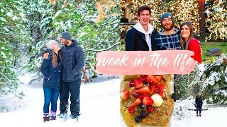 A WEEK IN OUR LIFE! | Eats + Traveling!