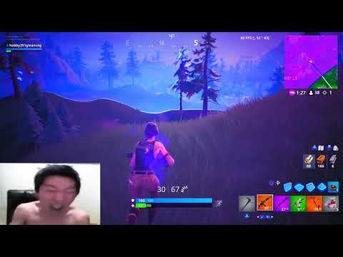 Korean Gamer Rages at Fortnite 2!