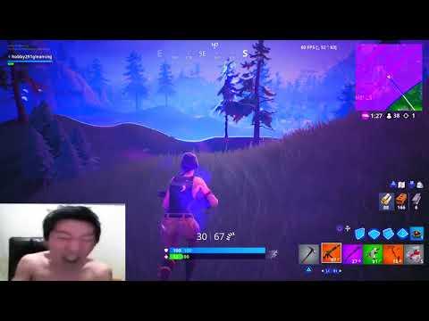 Korean Gamer Rages At Fortnite 2!
