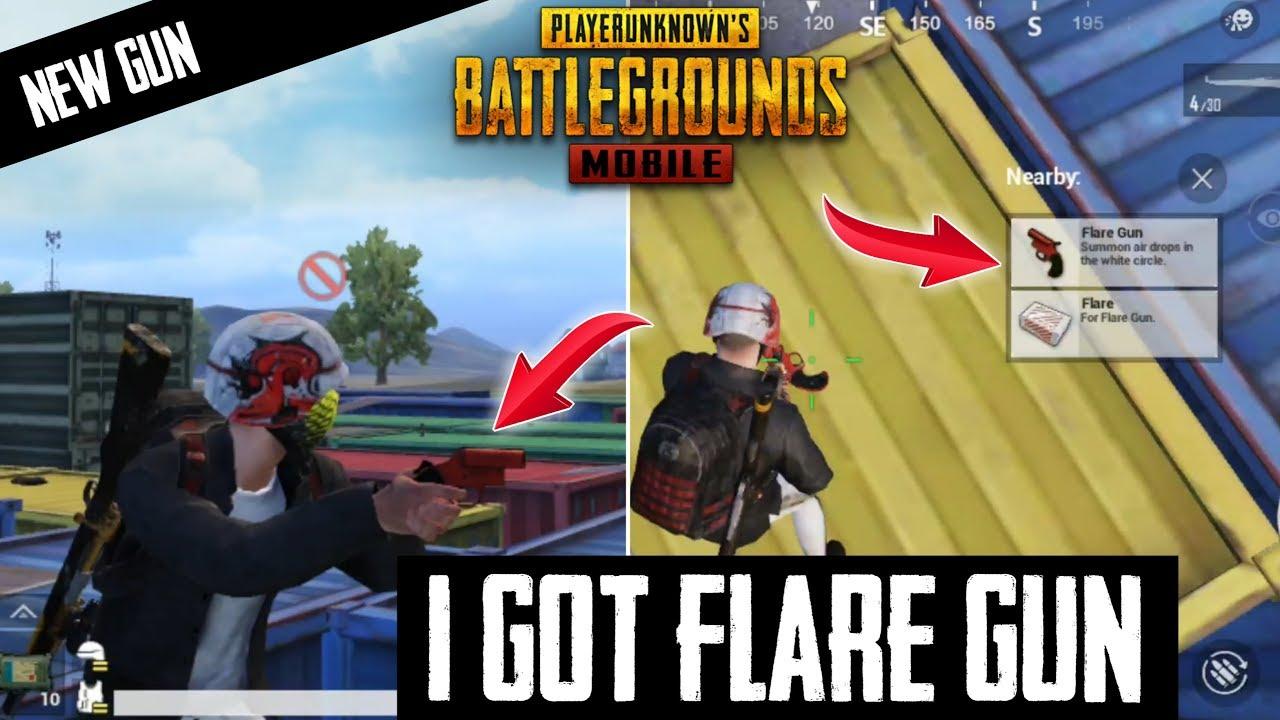 I GOT FLARE GUN