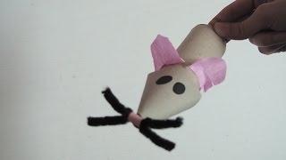 Gambar cover Maus basteln - Basteln mit der Bastelfee