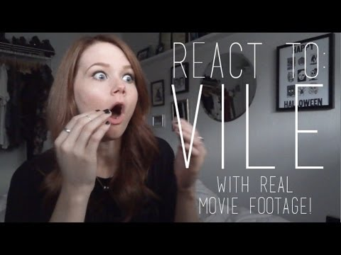 REACT TO: VILE (ACTUAL MOVIE FOOTAGE INCLUDED) | POSSESSEDBYHORROR