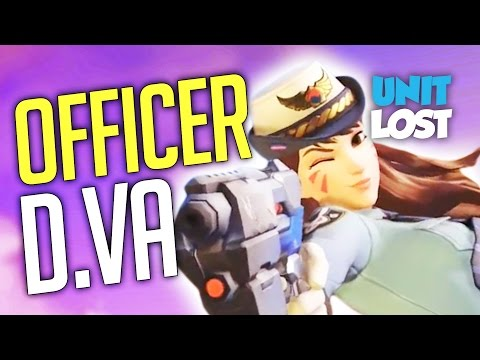 Overwatch News - Officer D.Va (New Skin Coming!)