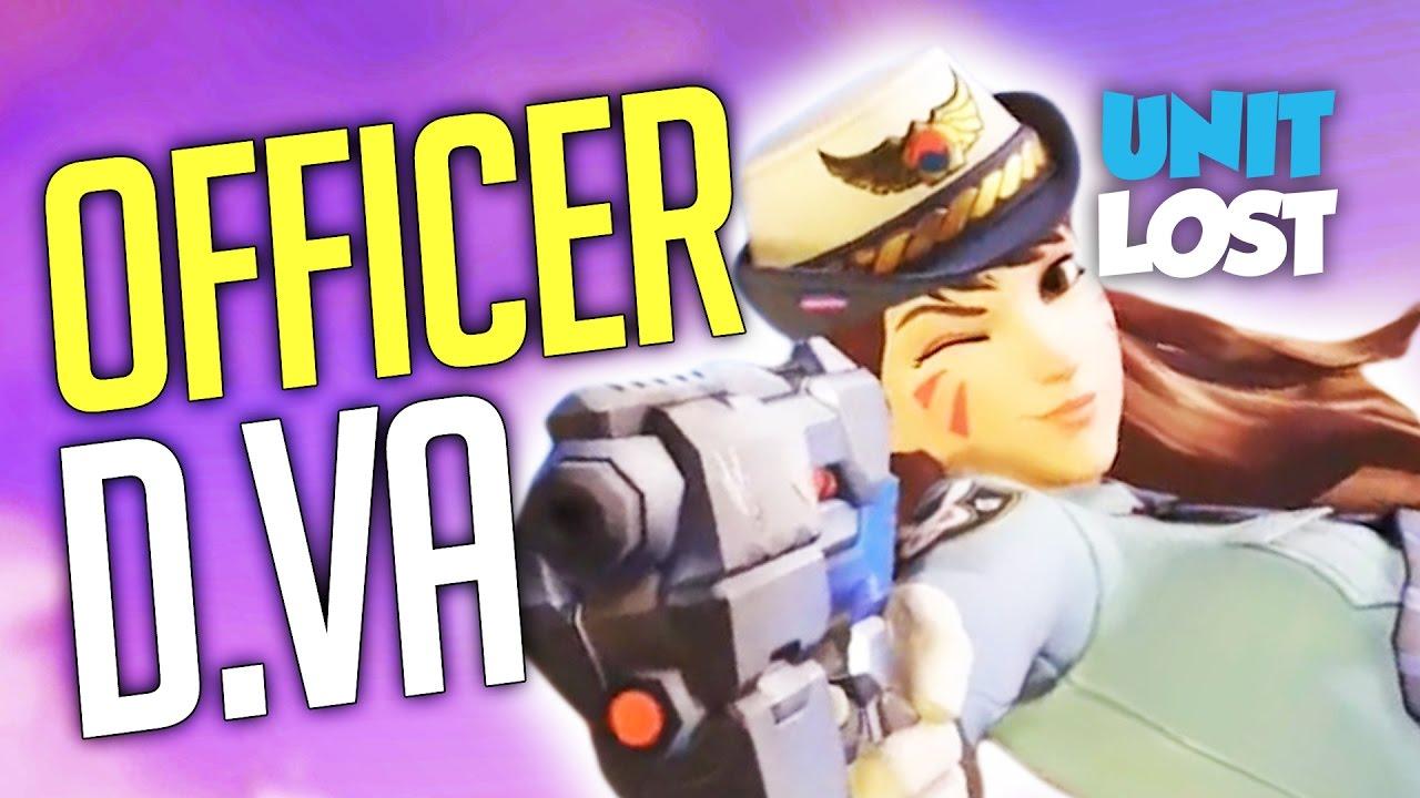 officer dva skin