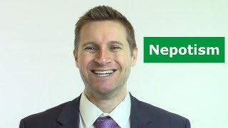Nepotism in Business