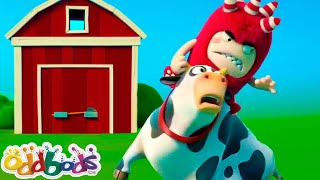 Oddbods & The Crazy Farm Animals | Cartoons For Kids