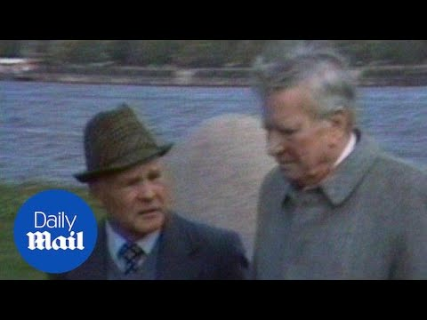 Britain's most famous spy: Kim Philby spotted in Russia in 1980 - Daily Mail