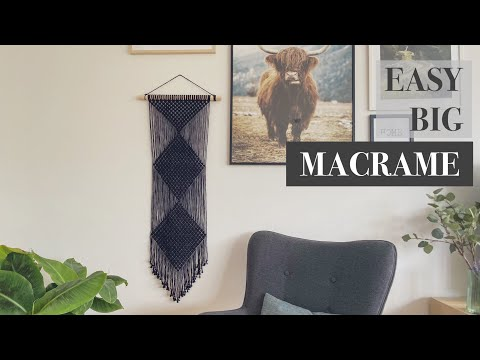 easy-macrame-wall-hanging-|-for-beginners