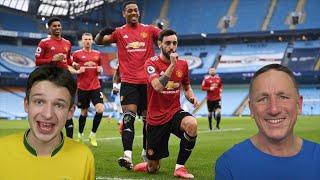 <b>MAN CITY vs MAN UNITED</b> LIVE - Premier League Reaction ...