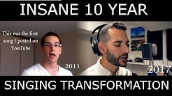 INCREDIBLE Singing Transformation Video