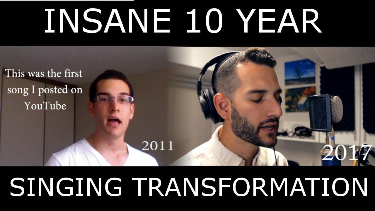 INCREDIBLE Singing Transformation Video