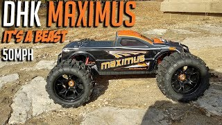 DHK Maximus 1/8th Brushless RTR 50mph truck Review