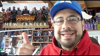Marvel's Avengers Infinity War Trailer 2 SUD Reaction Video