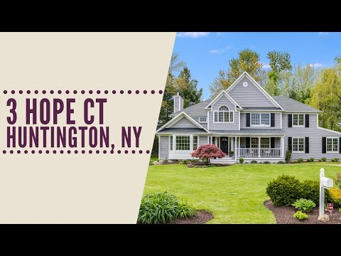 Hope In Flower Hill: Virtual Tour 3 Hope Ct, Huntington, NY | Long Island Homes For Sale