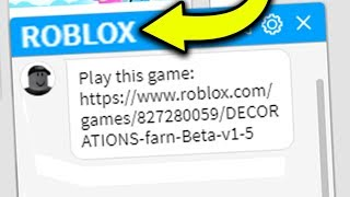 ROBLOX TOLD ME TO PLAY THIS GAME!