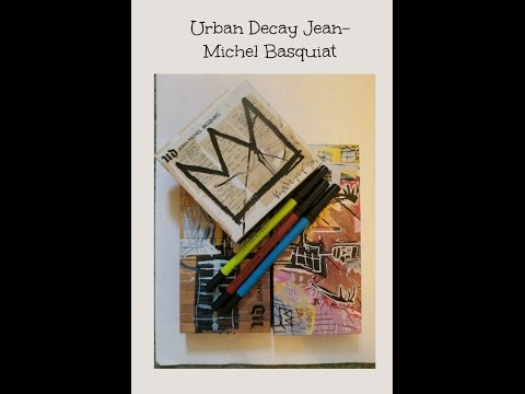 Urban Decay Jean-Michel Basquiat Collection Review & Swatches