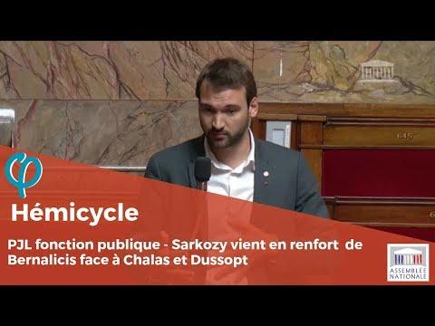 Sarkozy vient en renfort de Bernalicis face à Chalas et Dussopt