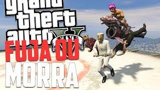 NUNCA BRINQUE NAS ALTURAS! - GTA 5 Online MOMENTOS ENGRAÇADOS