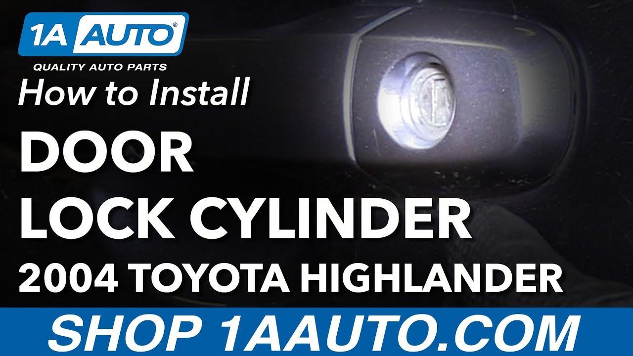 Mazda 3 Service Manual: Front Door Key Cylinder RemovalInstallation