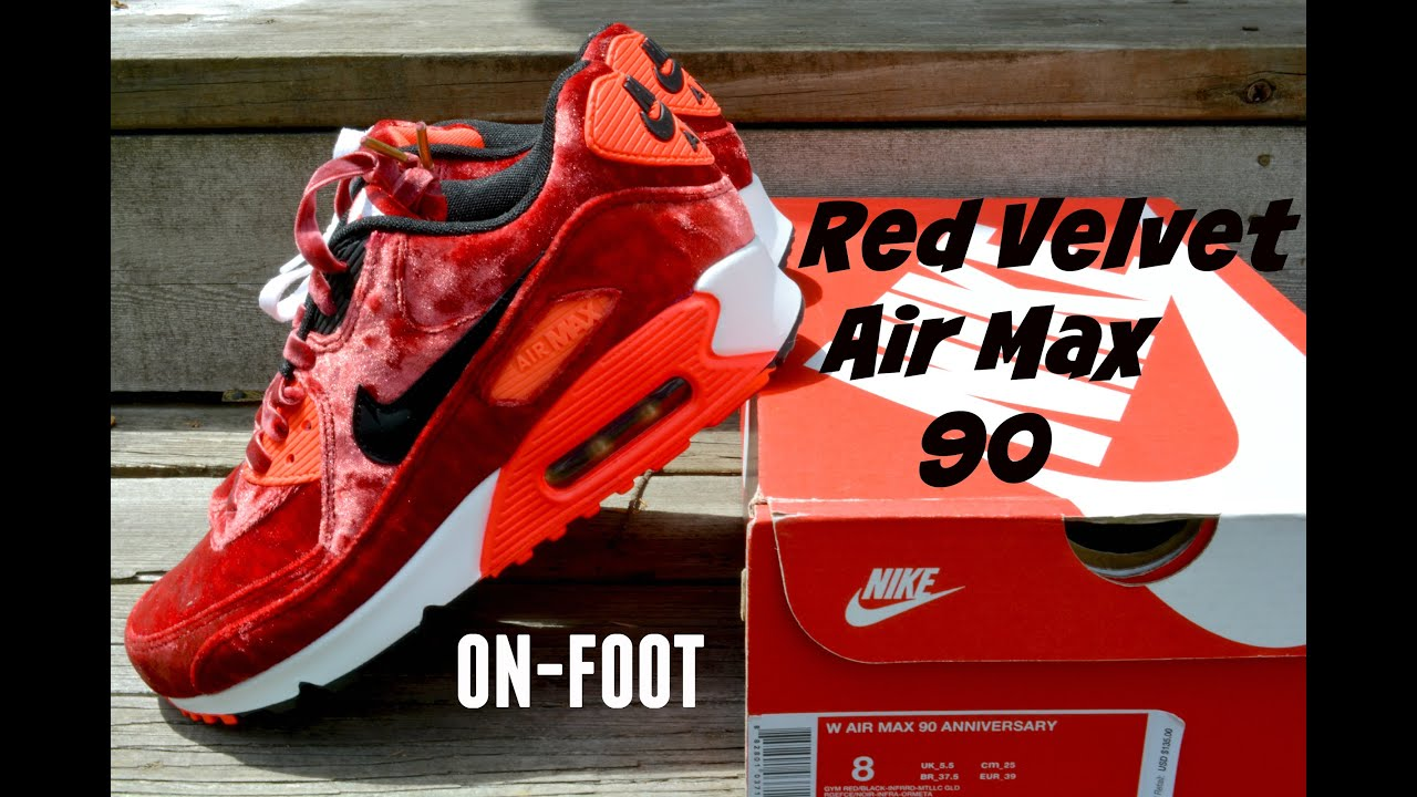 nike air max red velvet review