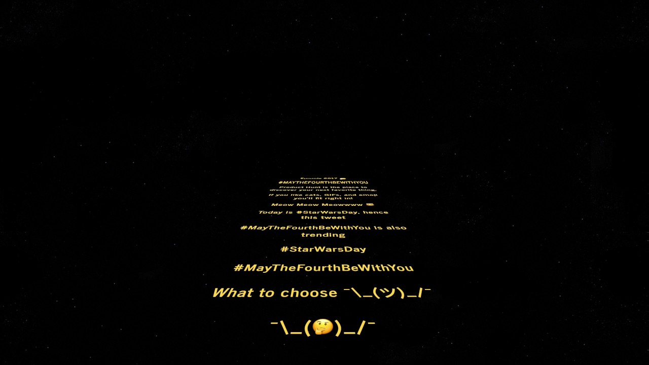 Star Wars Intro Creator - Create your own Star Wars intro